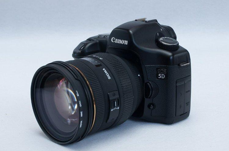 Canon on laadukas kameramerkki.