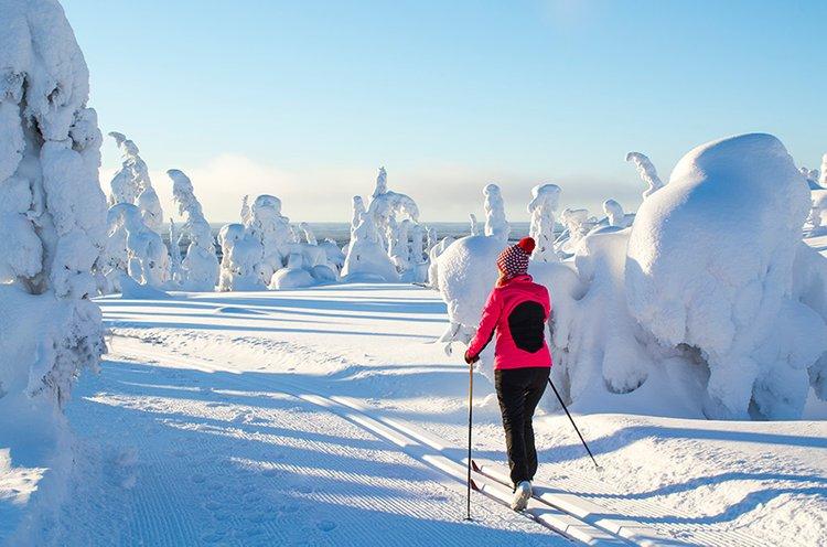 Terveelliset elämäntavat tukevat hyvinvointia talvellakin.