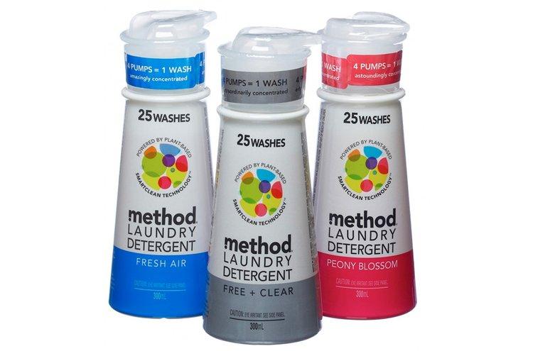 Method-tuotteet ovat taatusti puhtaita!