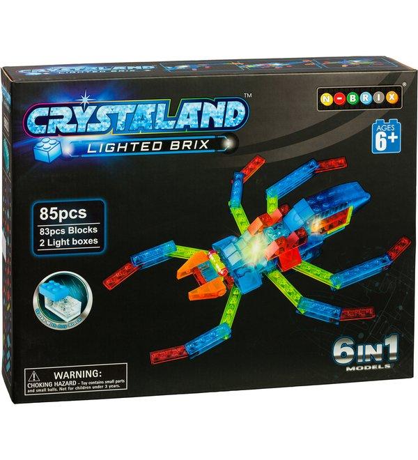 Crystaland-rakennussarjat tarjoavat jännittäviä rakennushetkiä monenikäisille lapsille.