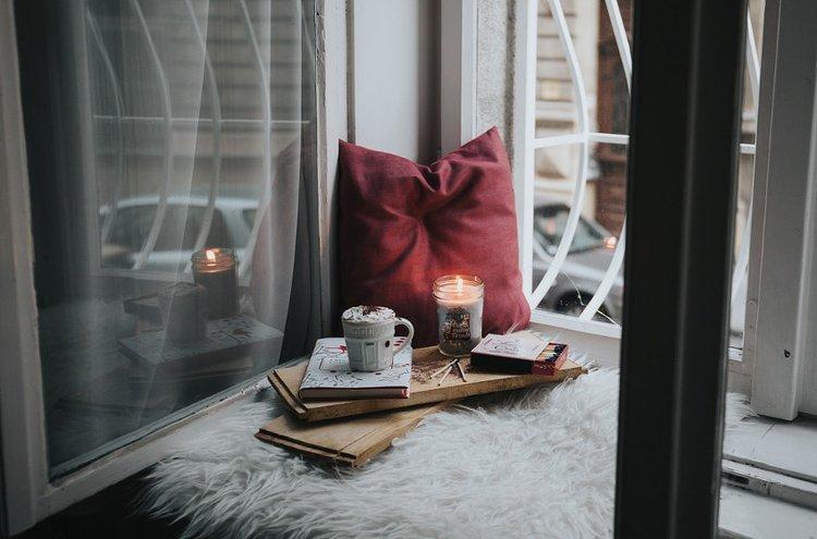 Finnmarin kynttilät ja sisustustuotteet kaunistavat kotia.