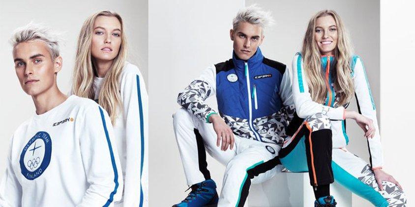 IcePeak vaatettaa Suomen Olympiajoukkueen.