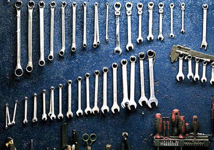 Toimivilla ratkaisuilla työkalujen säilytys on helppoa.