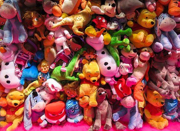 Ihanat pehmolelut tuovat iloa lapsen elämään.