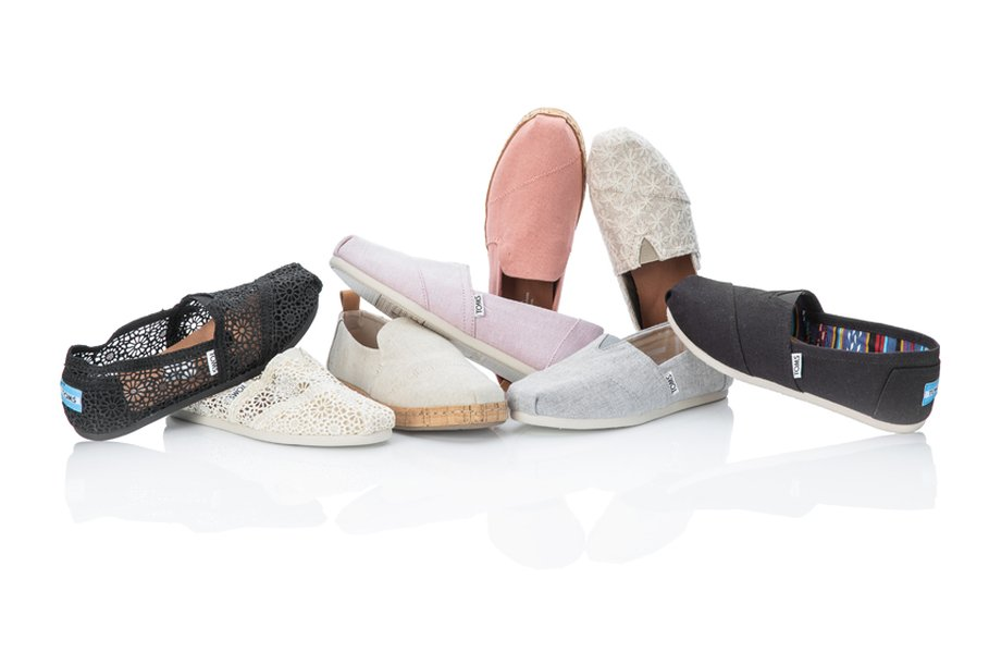 TOMS -kenkävalikoimasta löytyy tyyliä