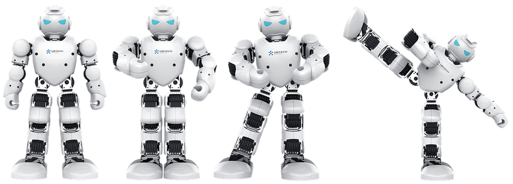 Robotit ovat toivottuja leluja lasten keskuudessa.