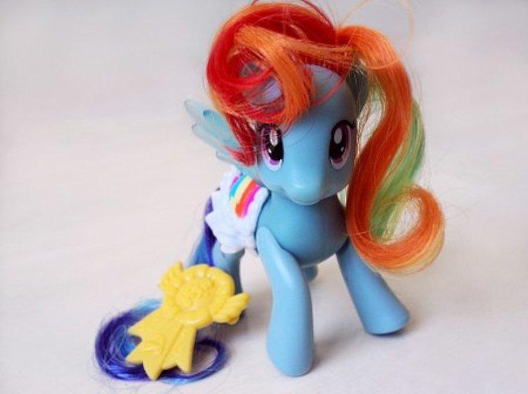 My Little Pony on suosittu eläinhahmo lasten leikeissä.