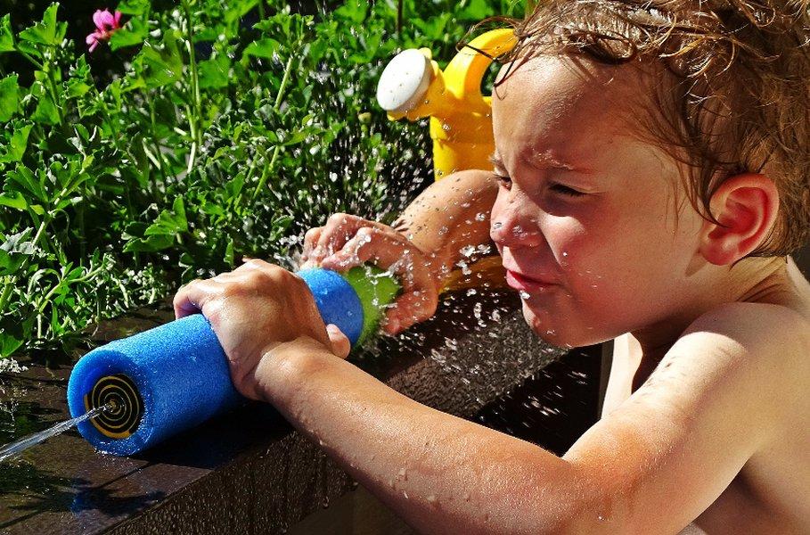 Vesipyssyt ovat lasten hellepäivien kohokohta!