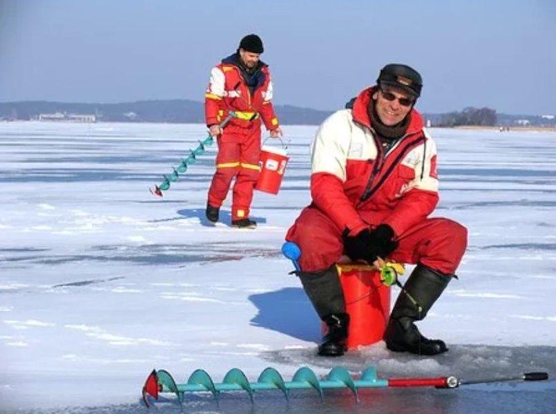 Kaira auttaa tunkeutumaan paksun jään läpi. Kaira on pilkkijän vakiovaruste!