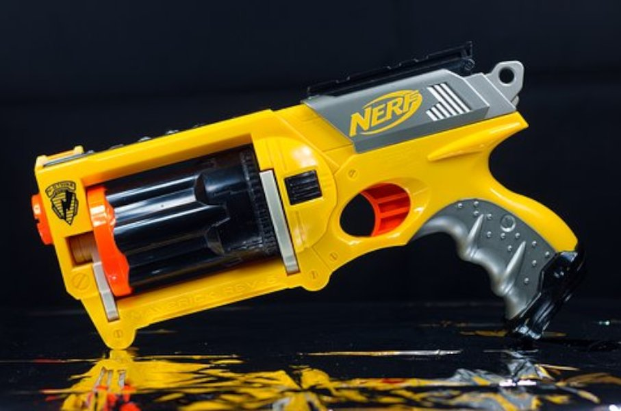 Nerf-aseet ovat suosittuja leikkiaseita kaikkialla maailmassa!